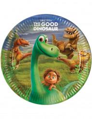Kunnon Dinosaurus™ -pahvilautaset, 8 kpl