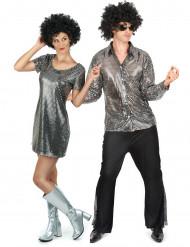 Disco -pariasu aikuisille (harmaa)