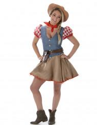 Aikuisten söpö cowgirl-asu