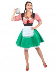 Naisen Oktoberfest-asu