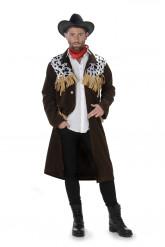 Pitkähelmainen cowboy- asu