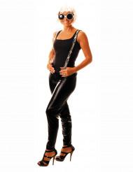 Mustat naisten leggingsit