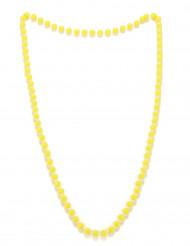 Keltainen helmikaulanauha