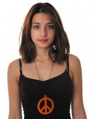 Oranssi rauhansymboli-kaulakoru