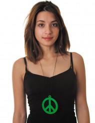 Vihreä rauhansymboliriipus