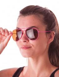 Vaaleanpunaiset lentäjän aurinkolasit aikuiselle