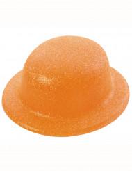 Oranssi paljettihattu aikuiselle