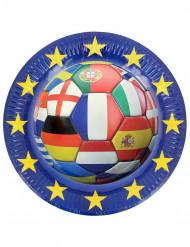 Euro Foot 2016 lautanen 6kpl