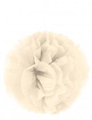 Kermanvärinen pompon-koriste 35 cm