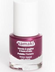 Vesipohjainen pois kuorittava kynsilakka 7,5 ml - vadelma - Namaki Cosmetics©