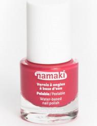 Vesipohjainen pois kuorittava kynsilakka 7,5 ml - korallinpunainen - Namaki Cosmetics©