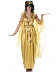Kullanvärinen Kleopatra-asu naiselle