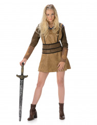 Ruskea viikinkiasu