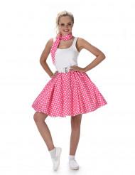 50- luvun pinkki tanssihame