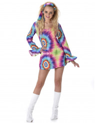 Lyhyt, psykedelinen mekko