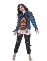 Zombie ja vauva -asu aikuisille
