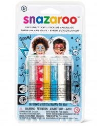 Snazaroo™ kasvovärikynät, 6 kpl