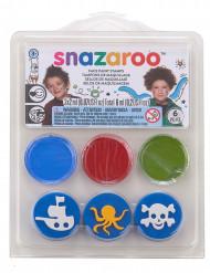 Snazaroo™ -merellinen meikkisetti