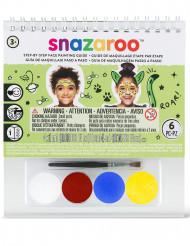 Minikokoinen Snazaroo™-maskeeraussetti ohjekirjasella