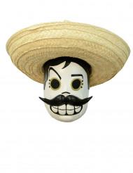 Calaveritas™ Día de los muertos -naamio aikuisille