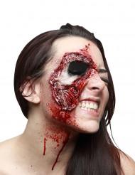 Revityt kasvot-tekoarpi aikuiselle halloween
