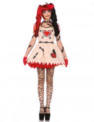 Voodoo-nukke Halloween-asu naisille