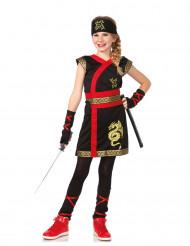 Kultainen lohikäärme - Ninja-asu lapsille