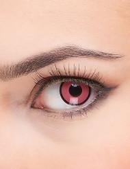 Vaaleanpunaiset piilolinssit