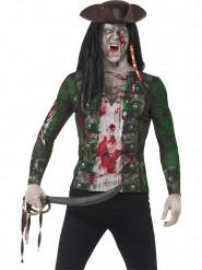 Miesten paita merirosvo-zombi