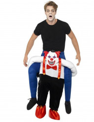 Pahan pellen olkapäillä Halloween-asu aikuisille