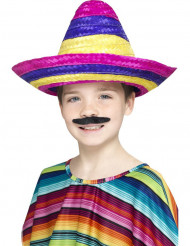 Värikäs sombrero lapsille