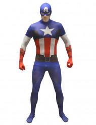 Aikuisten Kapteeni Amerikka™ asu Morphsuits™