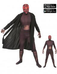 Aikuisten Morphsuits™ Zapper -naamiaisasu Darth Maul - Star Wars™