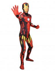 Aikuisten Morphsuits™-naamiaisasu Iron Man / Rautamies™