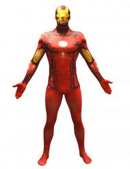 Aikuisten Morphsuits™ -naamiaisasu Iron Man / Rautamies™