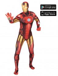 Aikuisten Morphsuits™Zapper -naamiaisasu Iron Man/ Rautamies™
