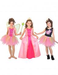 Kolme prinsessan naamiaisasua yhdessä paketissa