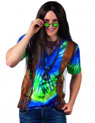 Hippimiehen t-paita aikuiselle