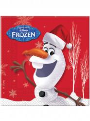 Olaf Christmas™ paperiset servetit 20 kpl