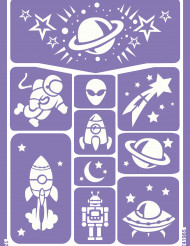 Sapluuna avaruuskuvioille