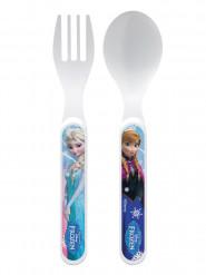 Frozen - huurteinen seikkailu™ muoviset haarukka ja lusikka