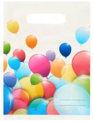 Lahjapussit ilmapalloprintillä - 6 kpl