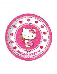 Hello Kitty™ -pahvilautaset, 8 kpl