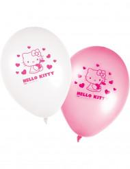 Hello Kitty™ ilmapallo 8kpl