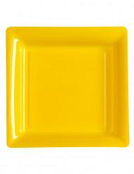 Keltainen lautanen 12kpl