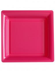 Pinkki lautanen 12kpl 23.5cm