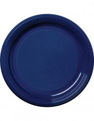 Siniset muovilautaset, 30 kpl