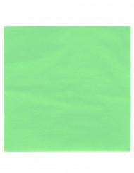 50 vaaleanvihreää servettiä 38 x 38 cm