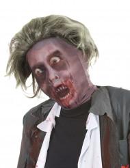 Aikuisten zombinaamari hiuksilla