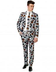 Miesten harmaa Halloween Mr. Icons Suitmeister™ -puku